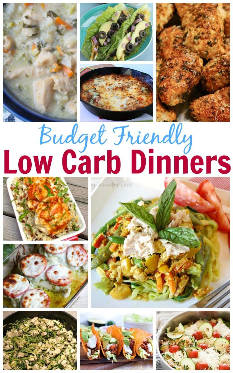 Cheap Low Carb Dinners  Bud Friendly Low Carb Dinners Jenn s RAQ