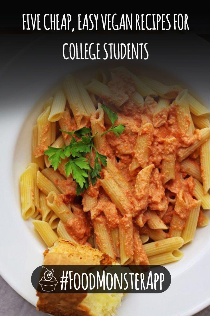 Cheap Vegan Recipes For College Students  737 best Food Monster App 5000 Recipes Vegan Never