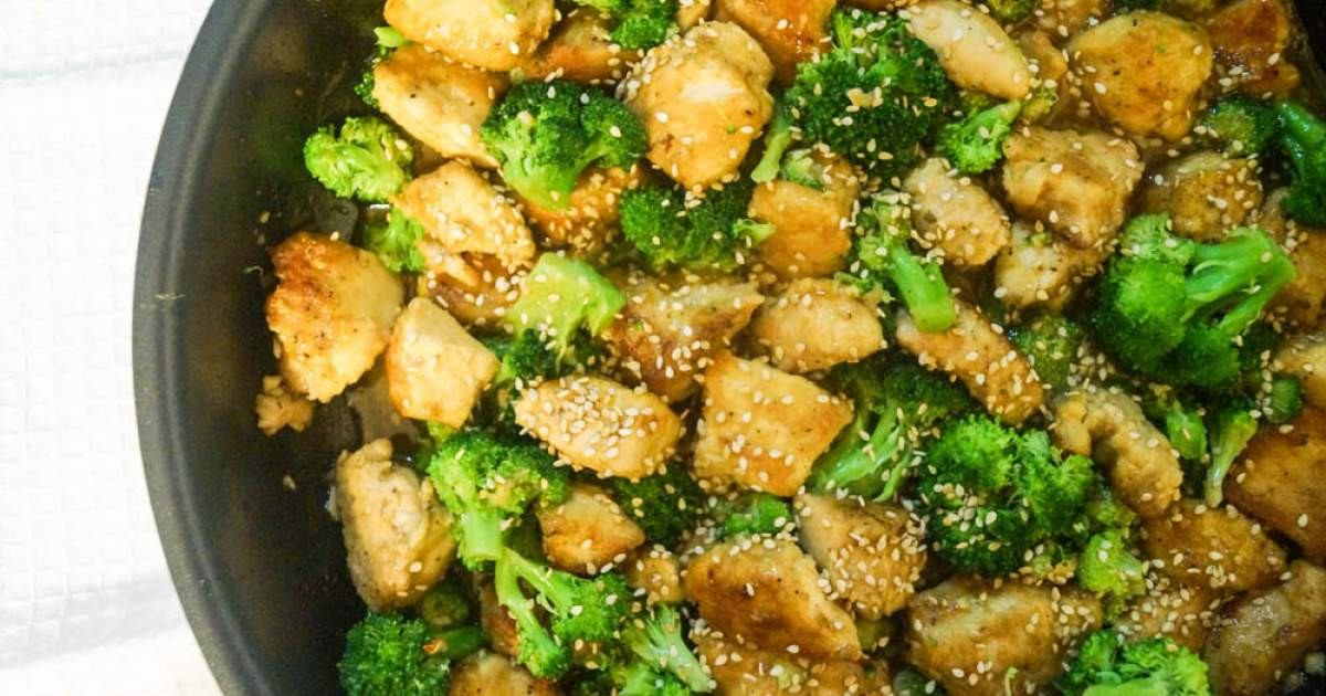 Chicken And Broccoli Recipes Low Calorie  Low Carb Sesame Chicken and Broccoli Slender Kitchen