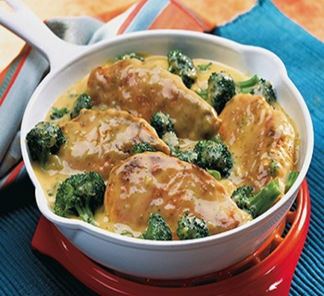 Chicken And Broccoli Recipes Low Calorie  Chicken Broccoli Skillet Recipe by Recipe CookEat