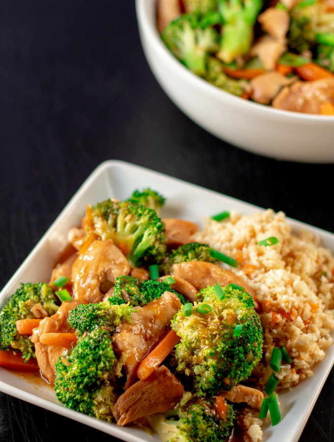 Chicken And Broccoli Recipes Low Calorie  Chinese Chicken and Broccoli