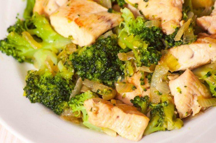 Chicken And Broccoli Recipes Low Calorie  e Skillet Chicken and Broccoli Recipe