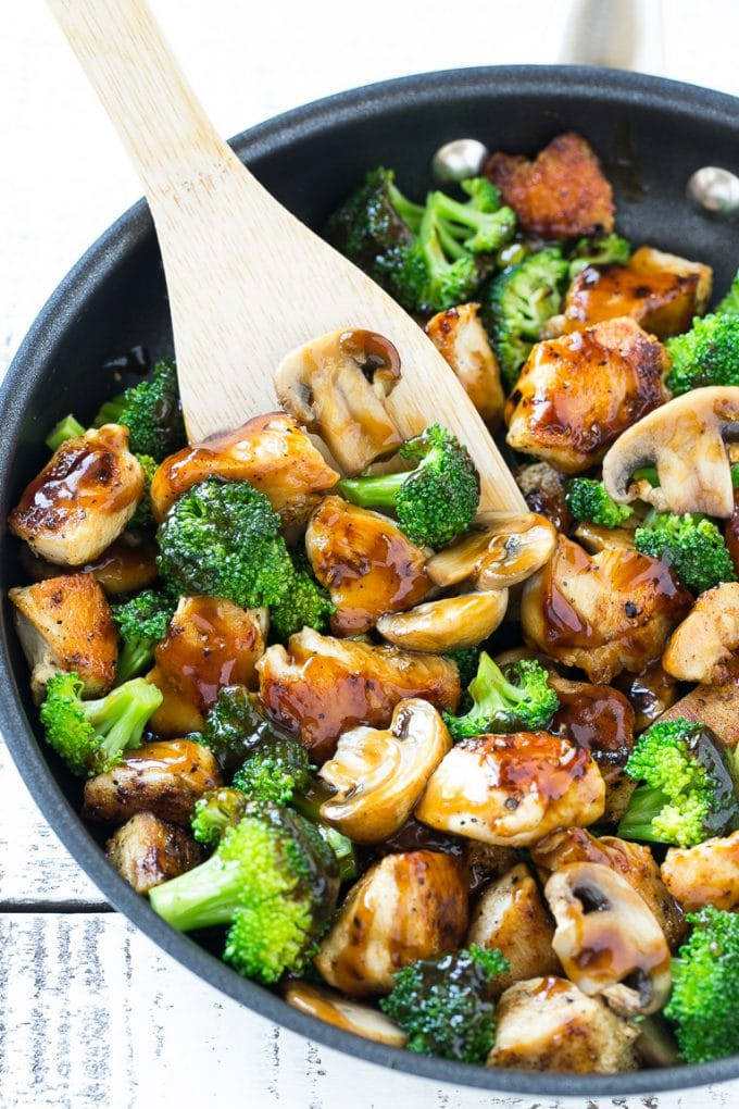 Chicken And Broccoli Recipes Low Calorie  Chicken and Broccoli Stir Fry Dinner at the Zoo