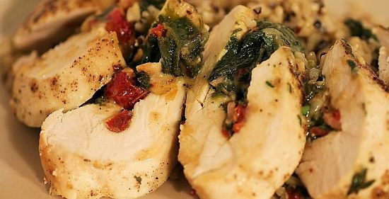Chicken Breast Low Calorie Recipes  Tomato Basil Stuff Chicken Breasts Low Fat Carb High