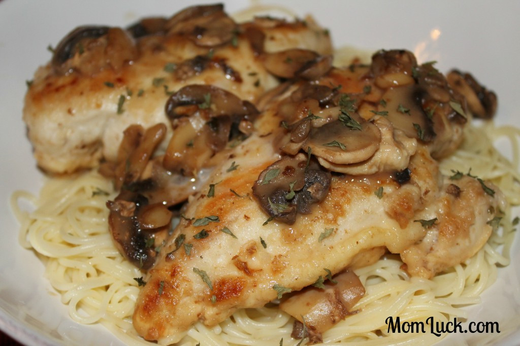 Chicken Breast Low Calorie Recipes  Guilt Free Chicken Marsala Mom Luck