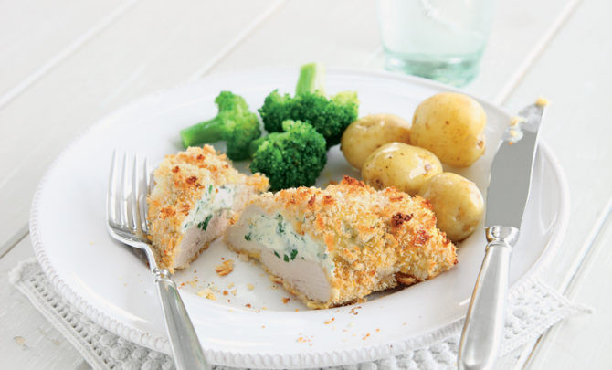 Chicken Breast Low Calorie Recipes  Crisp Garlic Baked Stuffed Chicken Breasts Recipe Relish