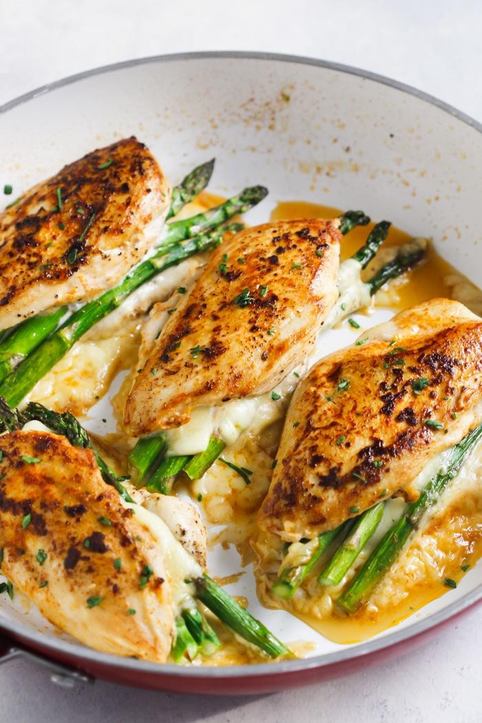 Chicken Breast Recipes Easy Baked Healthy  20 Asparagus Recipes for the Spring An Unblurred Lady