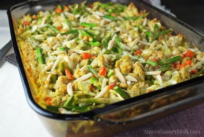 Chicken Casserole Recipes Healthy  healthy chicken ve able casserole