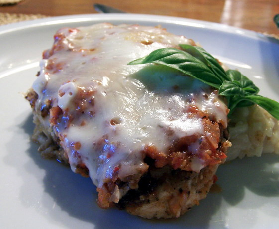 Chicken Low Fat Recipes  Chicken Parmesan Low Fat Recipe Food