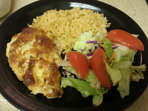 Chicken Low Fat Recipes  Hellmanns Parmesan Crusted Chicken Low fat Version Recipe