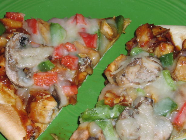 Chicken Low Fat Recipes  Low Fat Barbecue Chicken Pizza Recipe Food