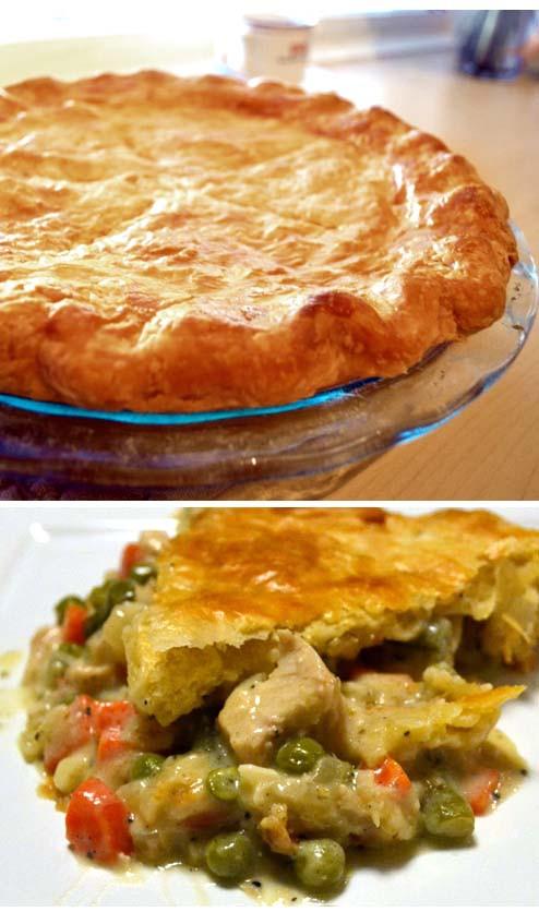 Chicken Pot Pie Recipe Healthy  Simple Healthy Chicken Pot Pie Recipe From Scratch Food