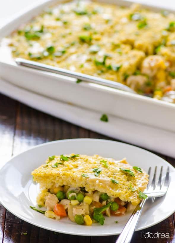 Chicken Pot Pie Recipe Healthy  Quinoa Chicken Pot Pie Recipe iFOODreal Healthy Family