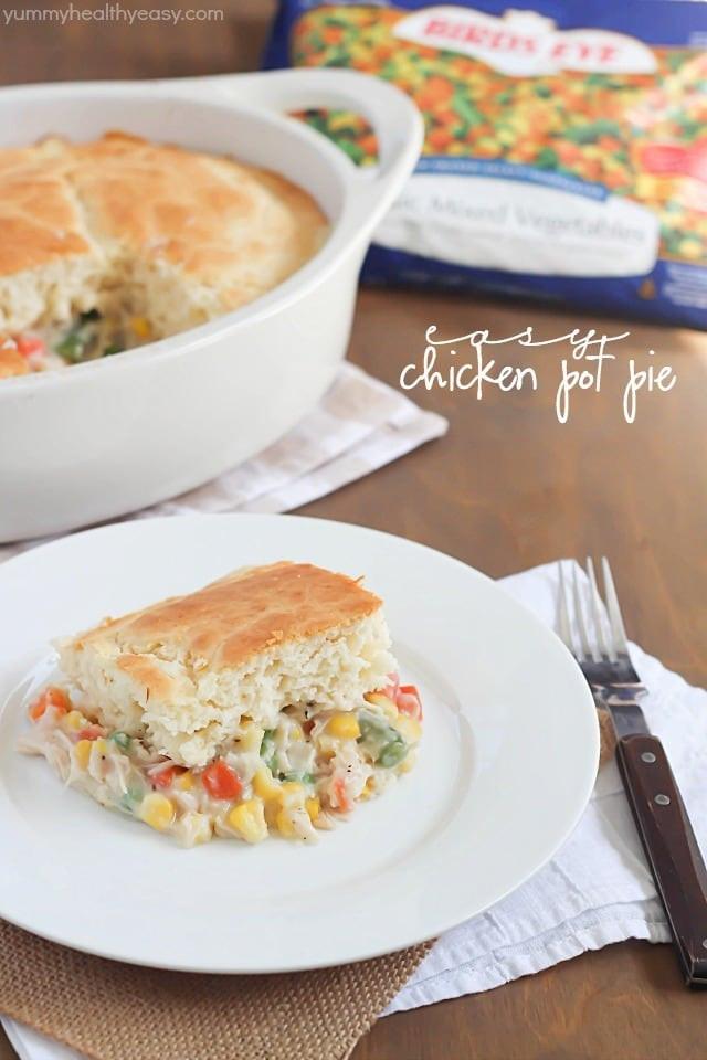 Chicken Pot Pie Recipe Healthy  easy healthy chicken pot pie