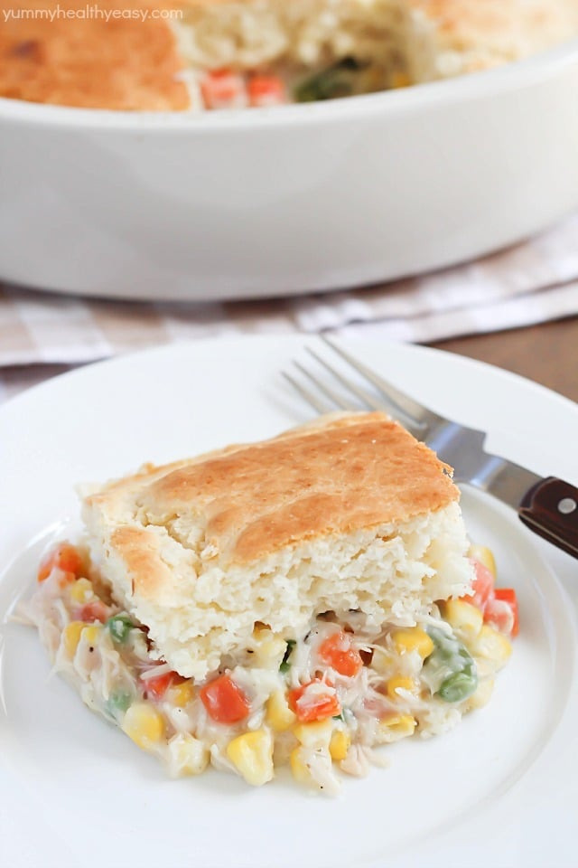 Chicken Pot Pie Recipe Healthy  Easy Chicken Pot Pie Recipe Yummy Healthy Easy