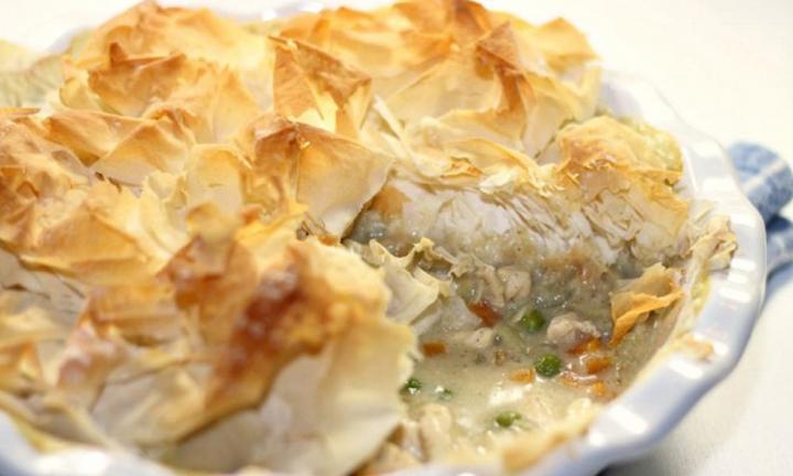 Chicken Pot Pie Recipe Healthy  Healthy chicken pot pie Kidspot