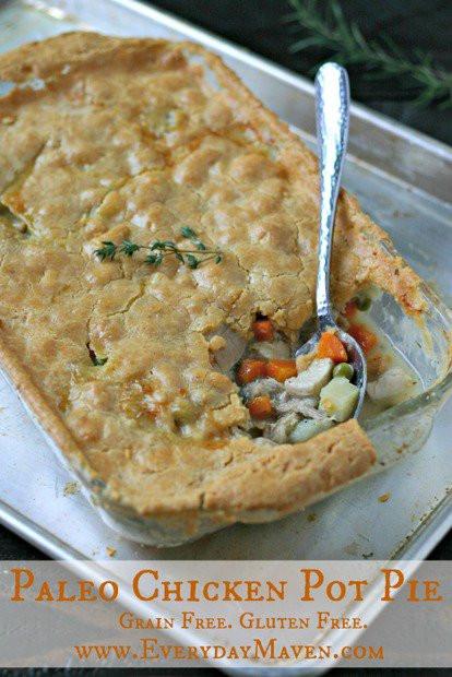 Chicken Pot Pie Recipe Healthy  Paleo Chicken Pot Pie Get Healthy U