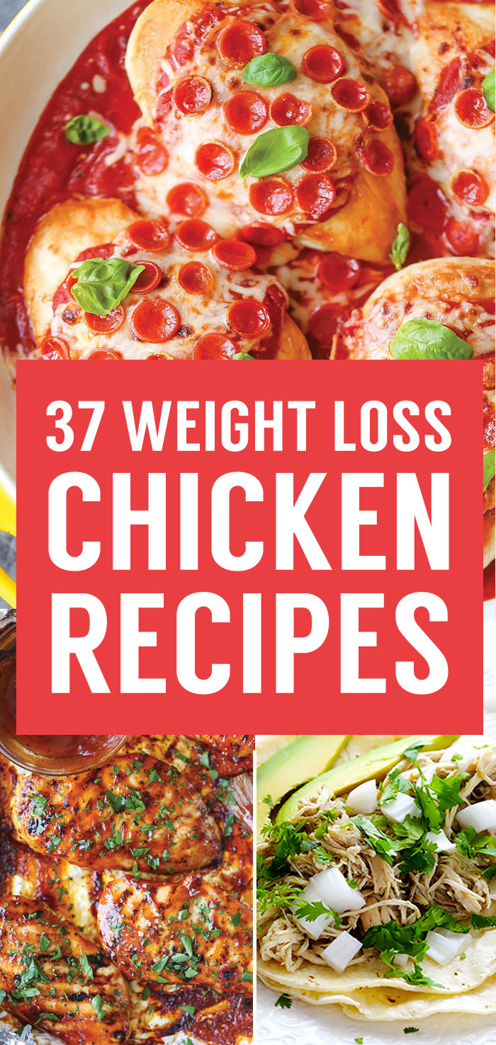 Chicken Recipes For Weight Loss  37 Healthy Weight Loss Chicken Recipes That Are Packed