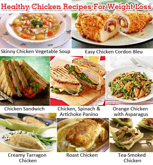 Chicken Recipes For Weight Loss  Healthy Chicken Recipes For Weight Loss
