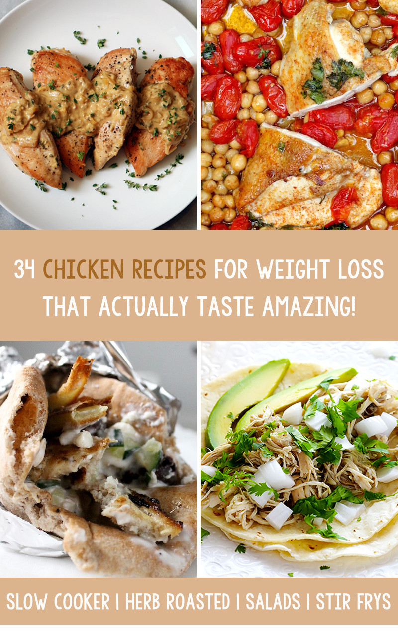Chicken Recipes For Weight Loss  chicken recipes weight loss