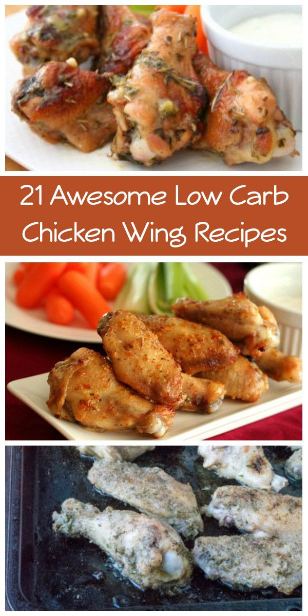 Chicken Recipes Low Carb  21 Awesome Low Carb Chicken Wing Recipes