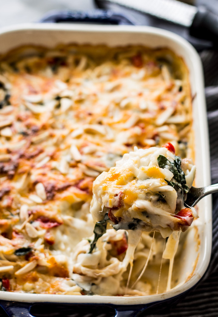 Chicken Recipes Low Carb  Low Carb Chicken Tetrazzini