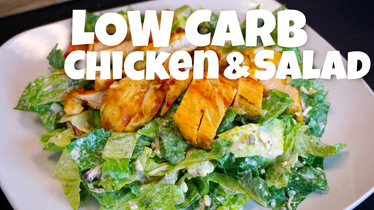 Chicken Recipes Low Carb  low carb chicken salad recipes