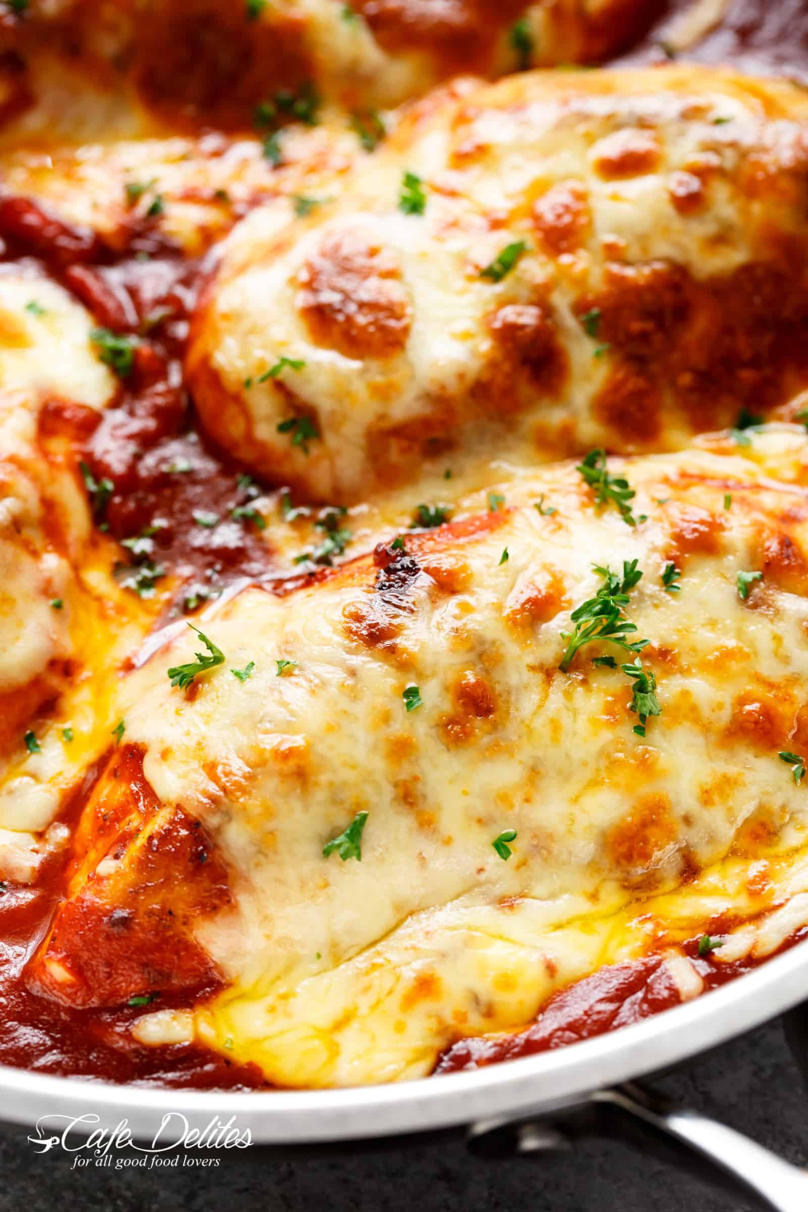 Chicken Recipes Low Carb  Easy Mozzarella Chicken Recipe Low Carb Chicken Parm