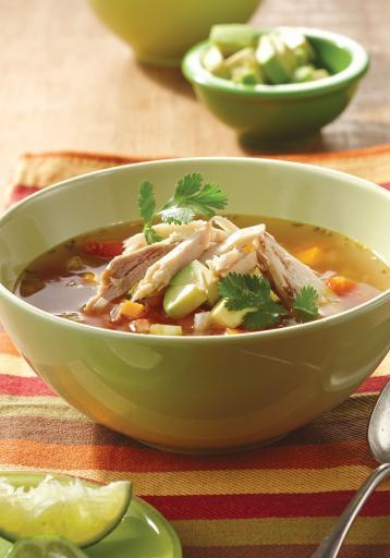 Chicken Soup For Diabetics  Mexican Chicken Soup diabetes friendly