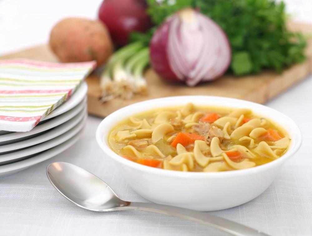Chicken Soup For Diabetics  Quick Chicken Noodle Soup Diabetes Self Management