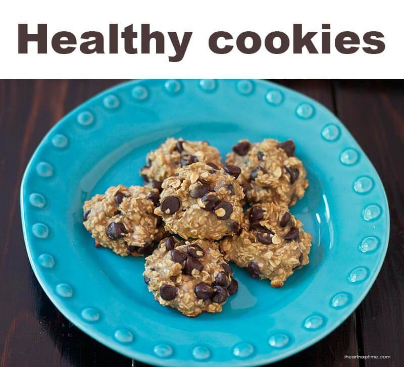Choc Chip Oatmeal Cookies Healthy  easy healthy oatmeal chocolate chip cookie recipe