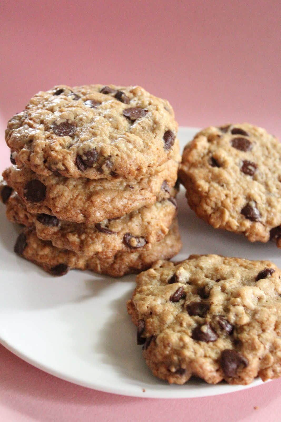 Choc Chip Oatmeal Cookies Healthy  Ultimate healthier oatmeal and chocolate chip cookies