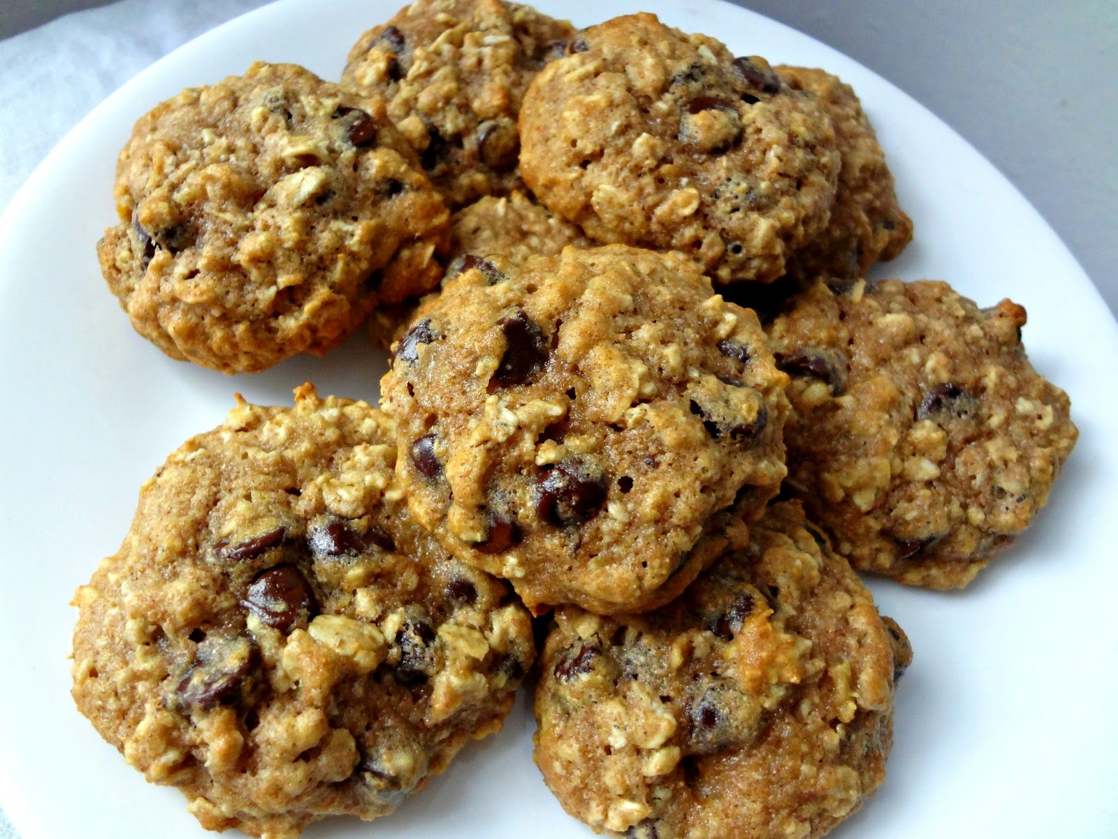 Choc Chip Oatmeal Cookies Healthy  The Cooking Actress Healthy Oatmeal Chocolate Chip Cookies