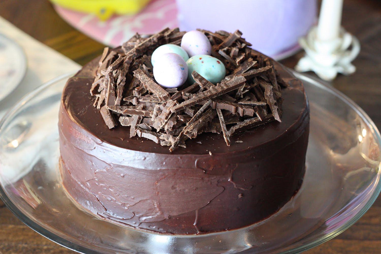Chocolate Easter Cake  Amanda s Parties To Go Easter Cake Ideas