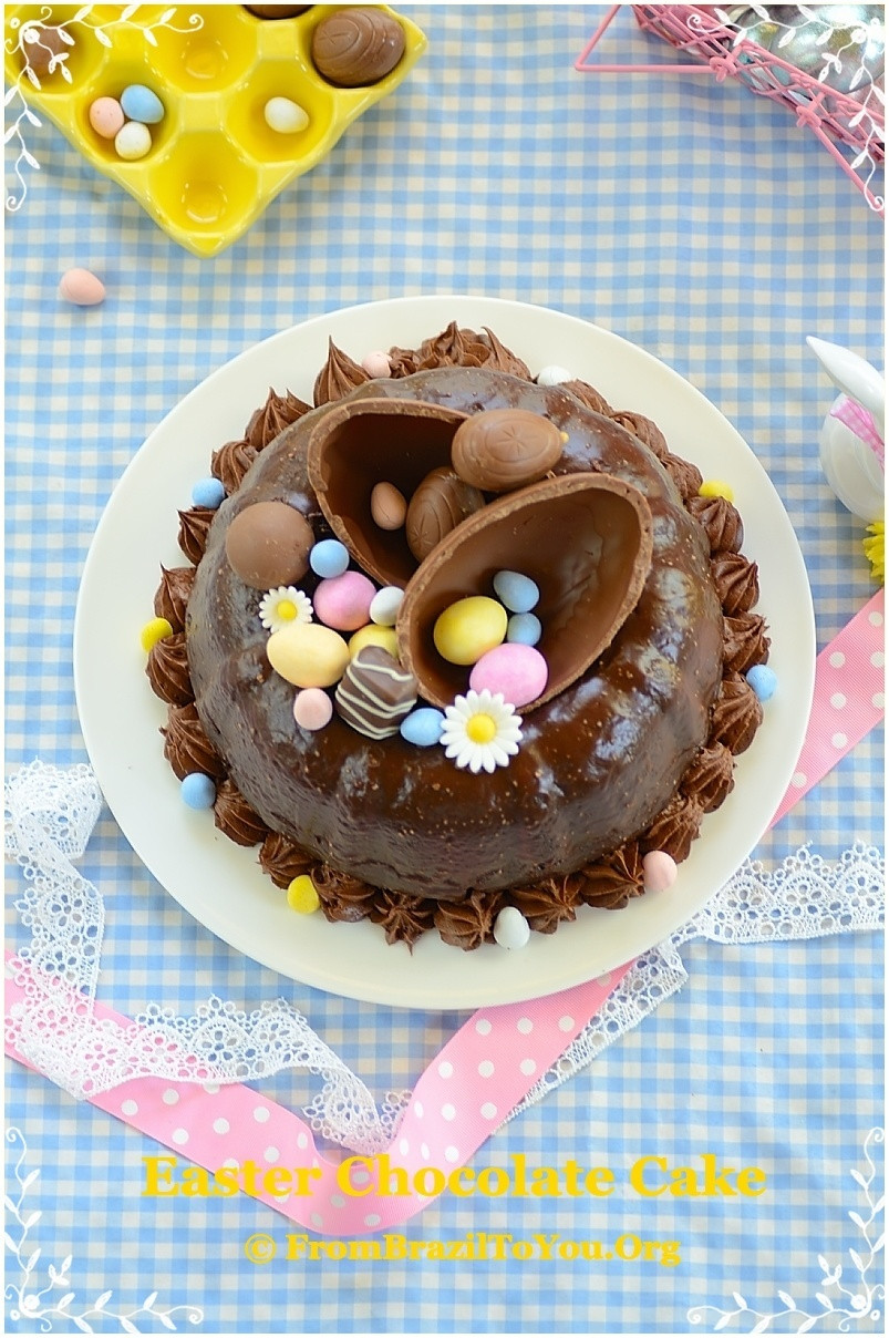 Chocolate Easter Cake  42 Best Easter Cake Recipes for 2016