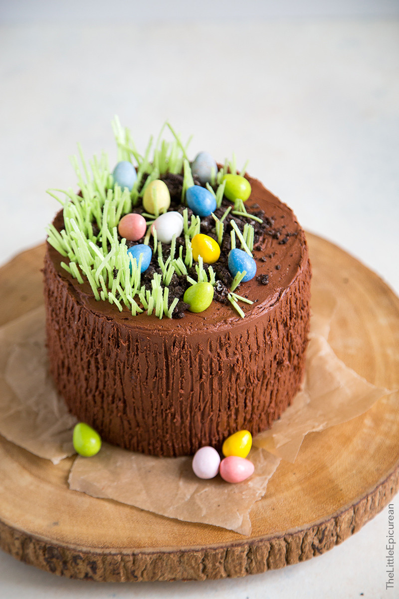Chocolate Easter Cake  Easter Egg Chocolate Cake The Little Epicurean