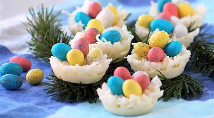 Chocolate Easter Desserts Recipe  Easter Dessert Recipes Chocolate Nests