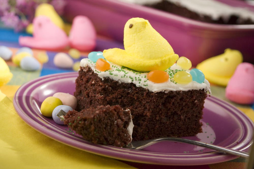 Chocolate Easter Desserts  Easter Candy Cake