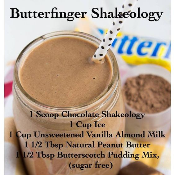 Chocolate Vegan Shakeology Recipes  Butterfinger Shakeology made with Chocolate Shakeology I