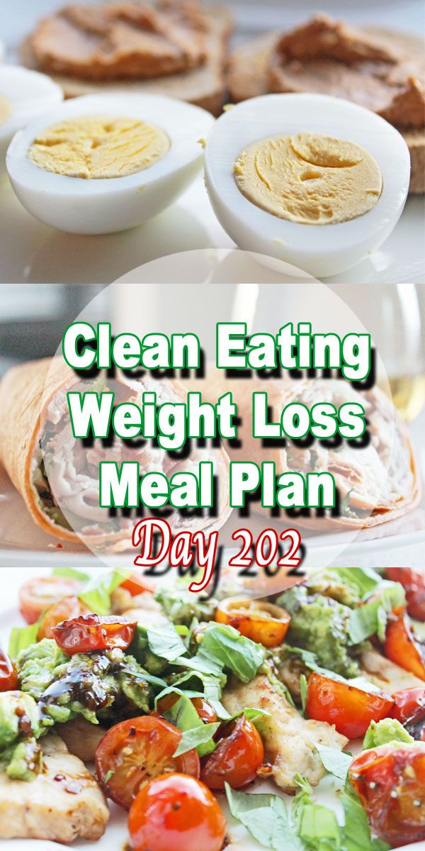 Clean Eating Foods For Weight Loss  Clean Eating Weight Loss Meal Plan 202