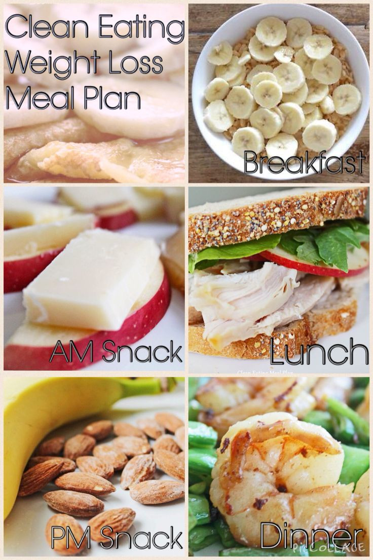 Clean Eating Foods For Weight Loss  Enjoy today s clean eating weight loss meal plan