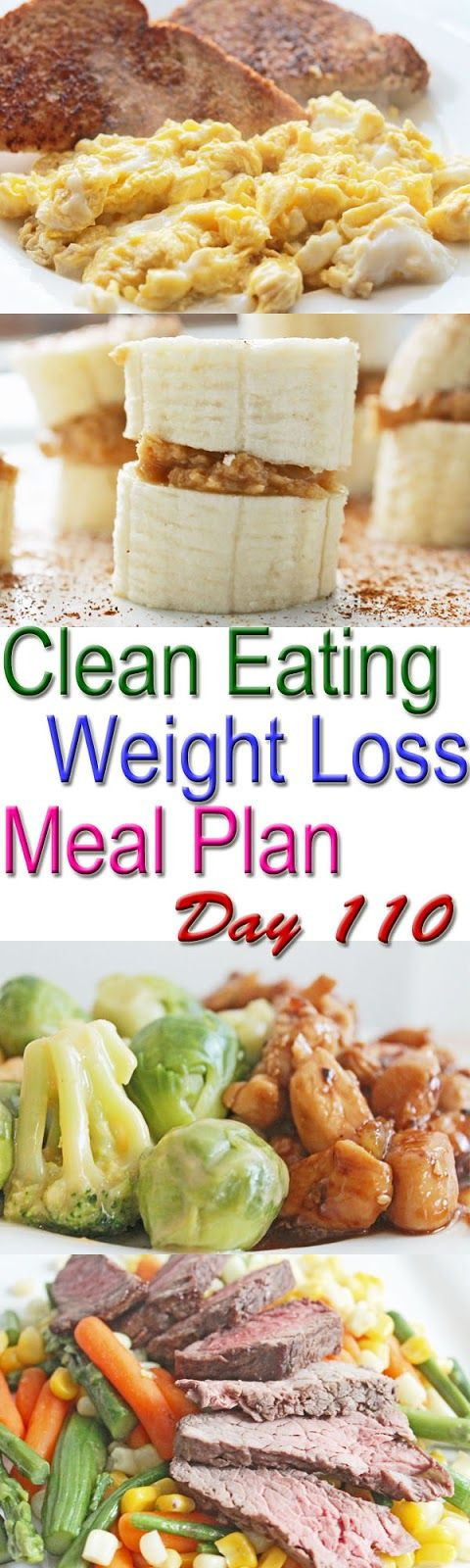 Clean Eating Foods For Weight Loss  25 best ideas about Weight Loss Meal Plan on Pinterest