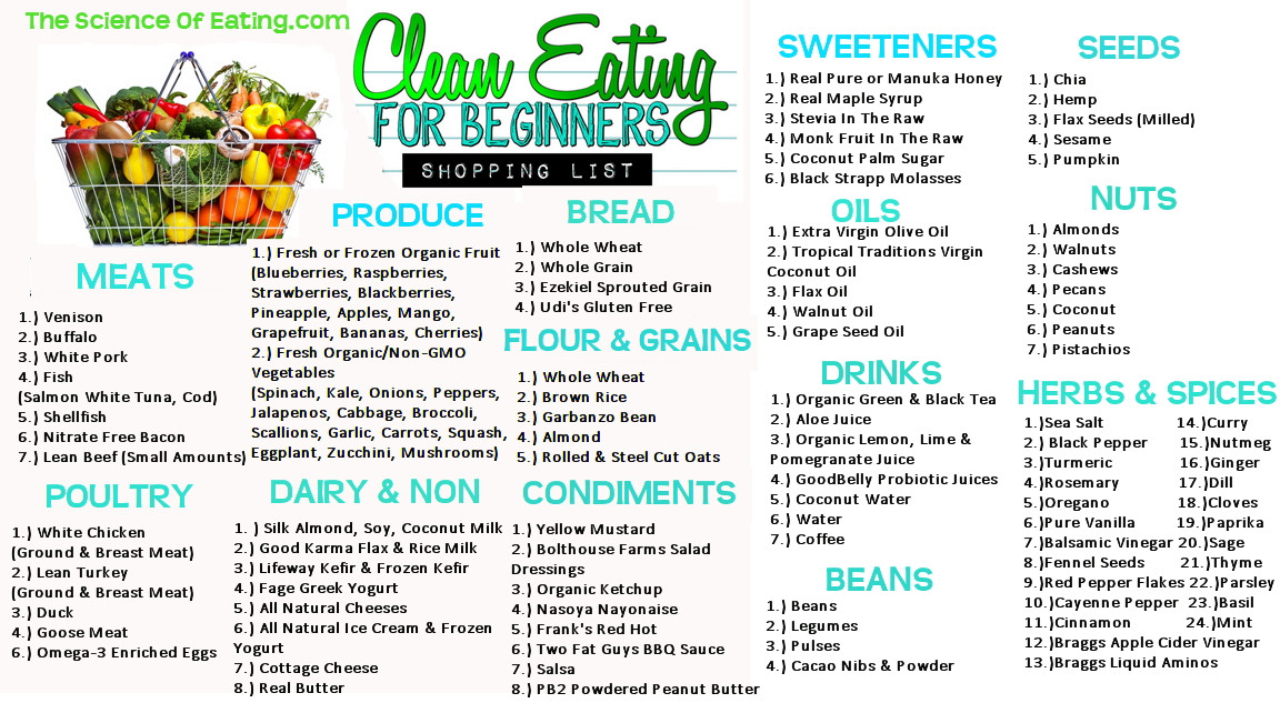 Clean Eating For Weight Loss  Six Principles of Eating Clean
