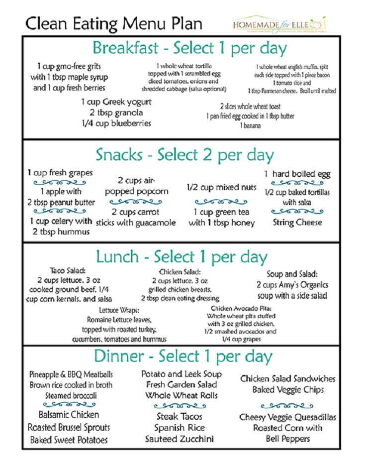 Clean Eating For Weight Loss  12 Trending Clean Eating Diet Plans to Lose Weight Fast