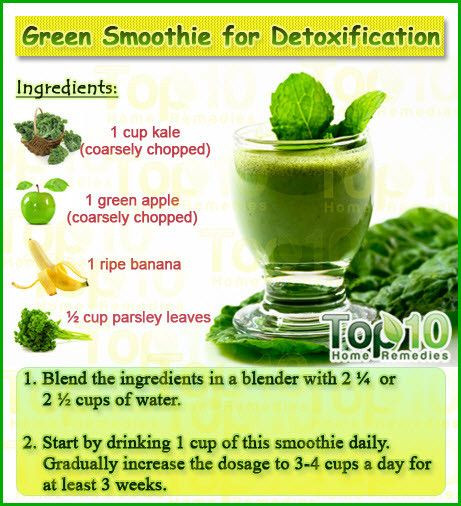 Cleansing Smoothies For Weight Loss  Home Reme s for Detoxification Home Reme s