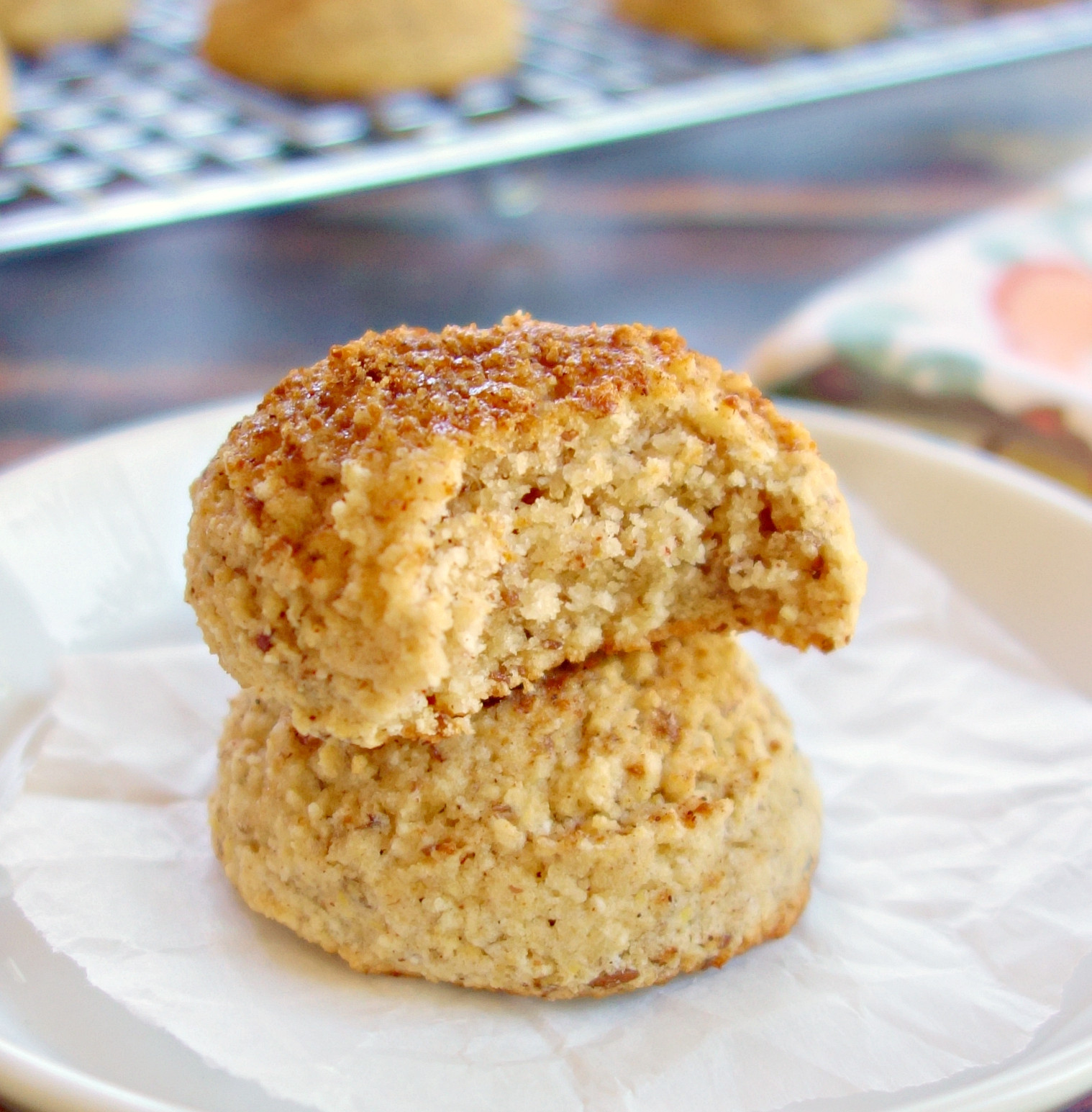 Coconut Flour Bread Vegan  Coconut Flour Snickerdoodles Vegan Paleo Grain Free