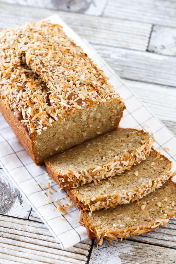 Coconut Flour Bread Vegan  coconut flour banana bread vegan