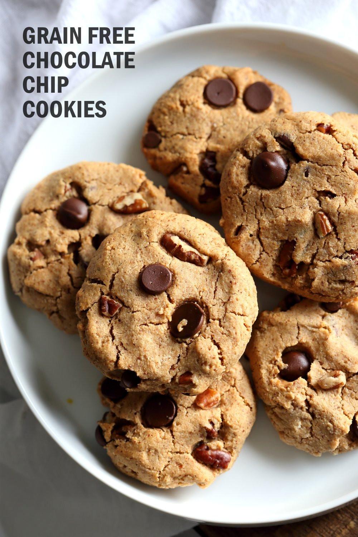 Coconut Flour Bread Vegan  Vegan Paleo Grain free Chocolate Chip Cookies with Coconut