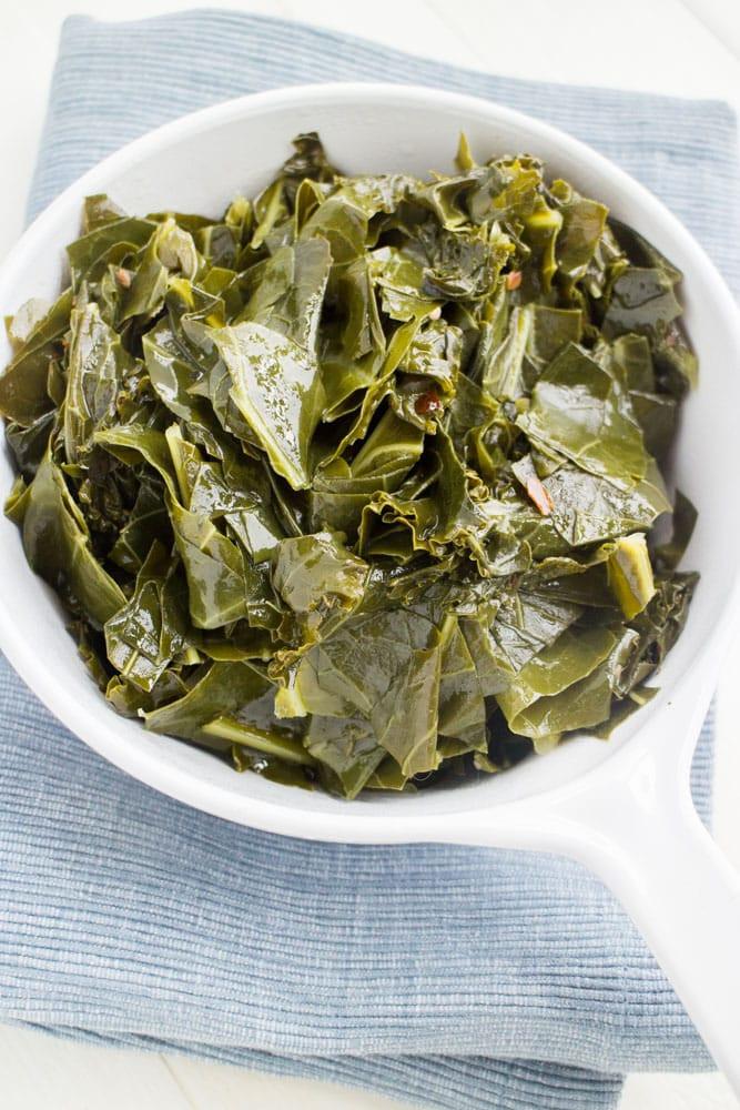 Collard Greens Vegetarian Recipes  easy collard greens recipe ve arian