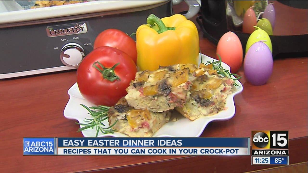 Crock Pot Easter Dinner Easy crock pot Easter dinner ideas from Jenn Bare